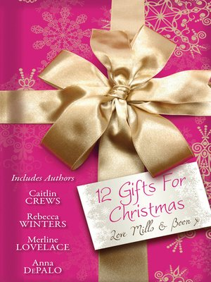 cover image of 12 Gifts For Christmas--12 Book Box Set